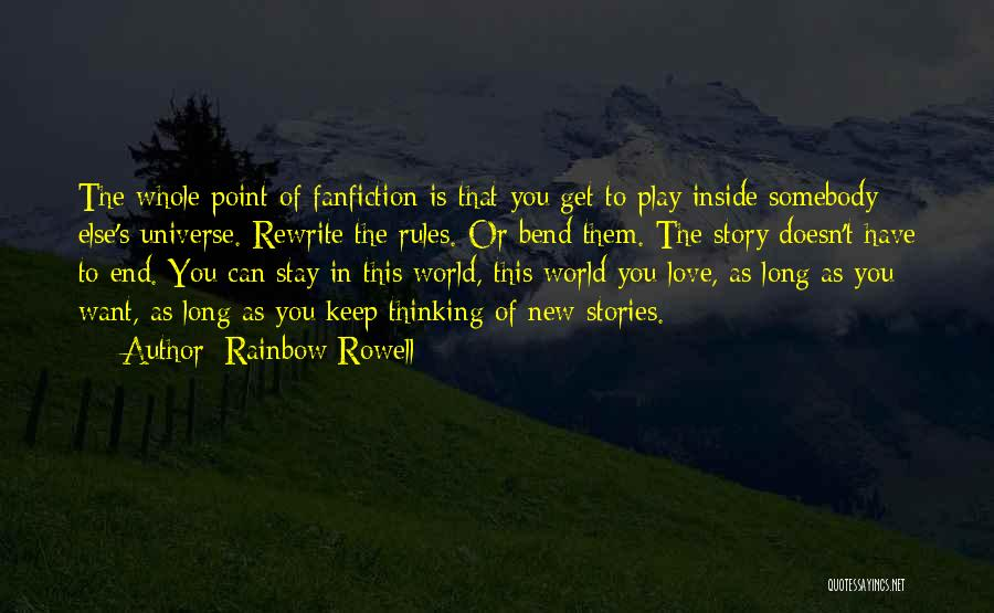 Rules Of Love Quotes By Rainbow Rowell
