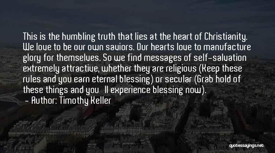 Rules Of Love Quotes By Timothy Keller