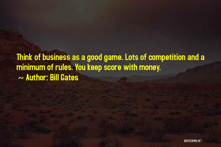 Rules Of Quotes By Bill Gates
