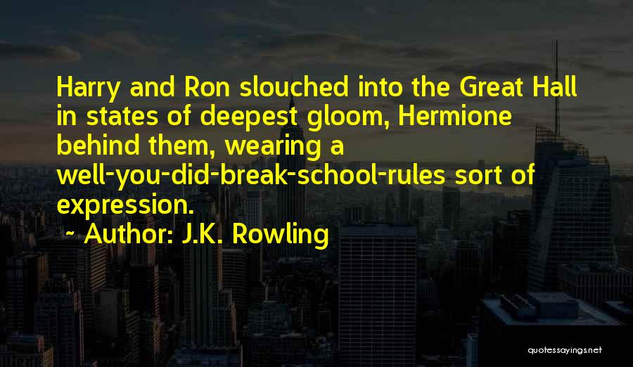 Rules Of Quotes By J.K. Rowling