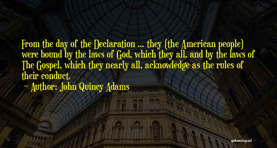 Rules Of Quotes By John Quincy Adams