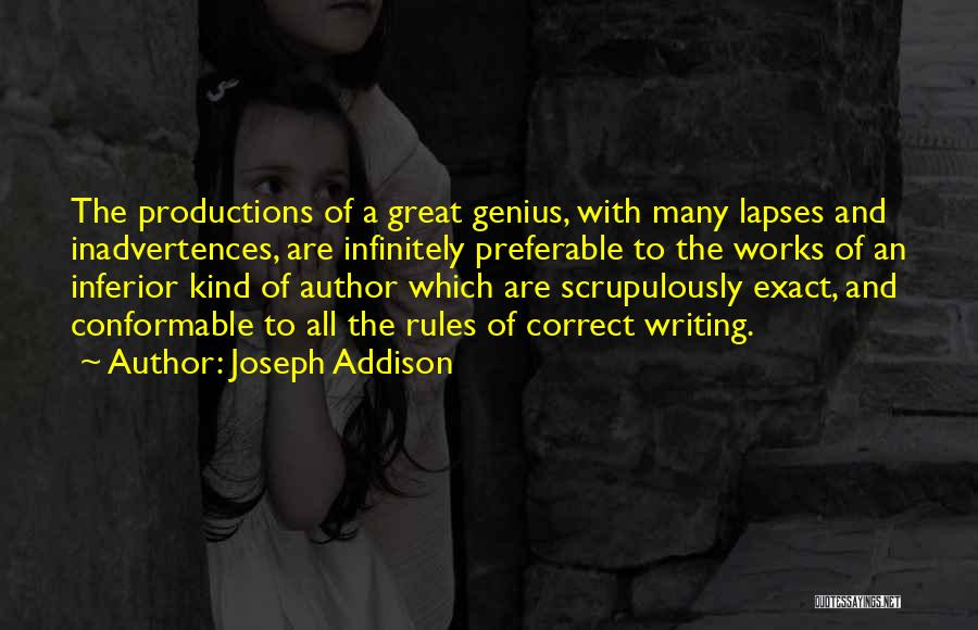 Rules Of Quotes By Joseph Addison