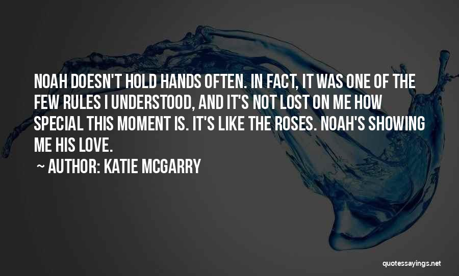 Rules Of Quotes By Katie McGarry