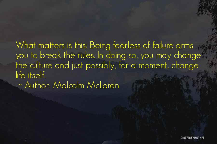 Rules Of Quotes By Malcolm McLaren