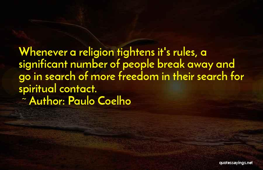 Rules Of Quotes By Paulo Coelho