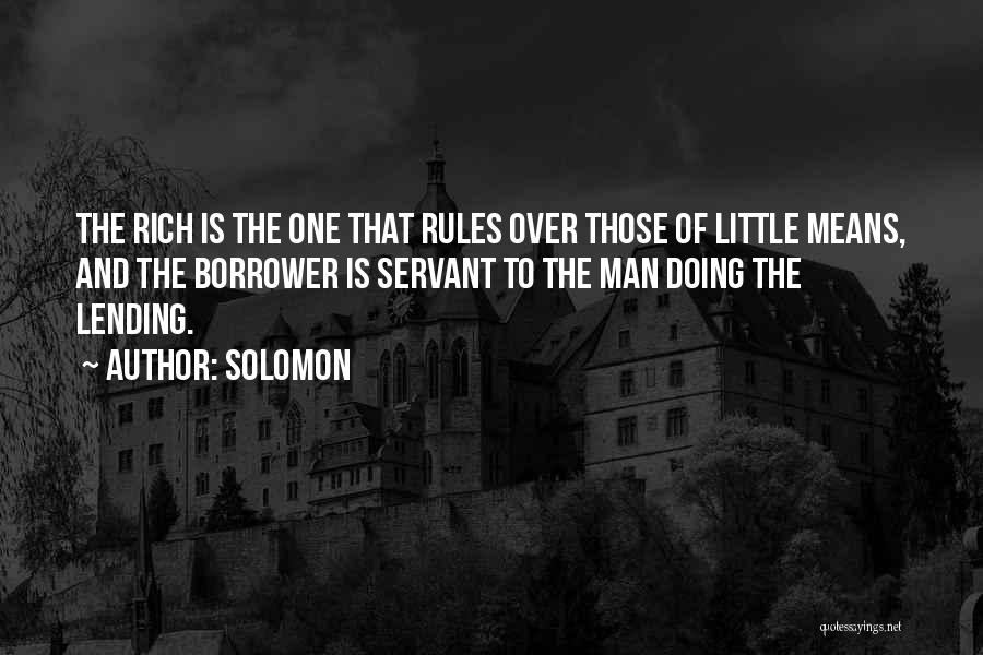 Rules Of Quotes By Solomon