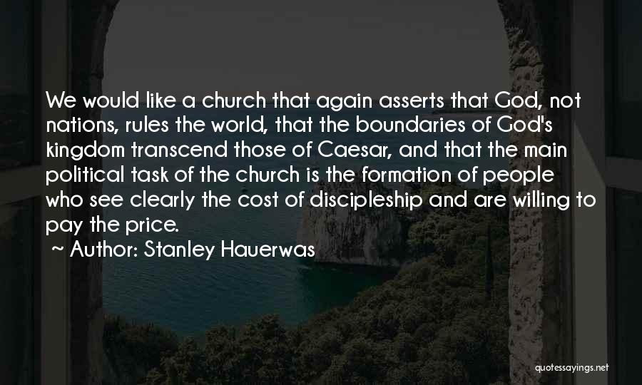Rules Of Quotes By Stanley Hauerwas