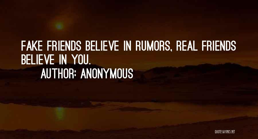 Rumors Quotes By Anonymous