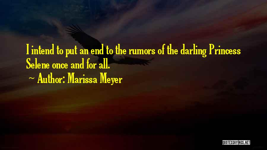 Rumors Quotes By Marissa Meyer