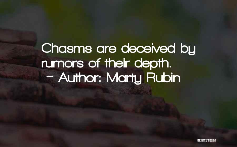 Rumors Quotes By Marty Rubin