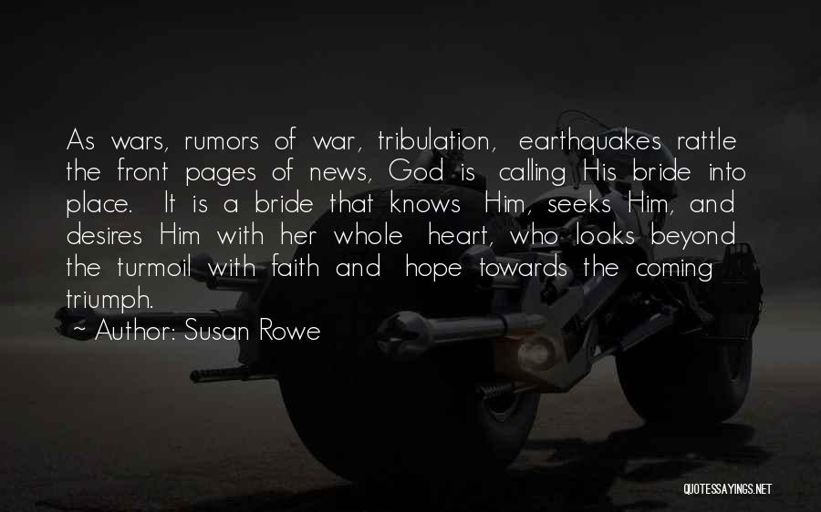 Rumors Quotes By Susan Rowe