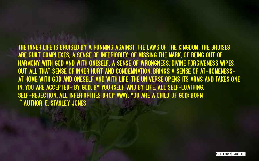 Running Away From Life Quotes By E. Stanley Jones