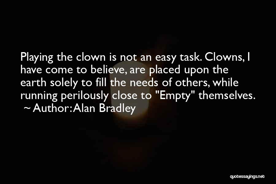 Running On Empty Quotes By Alan Bradley