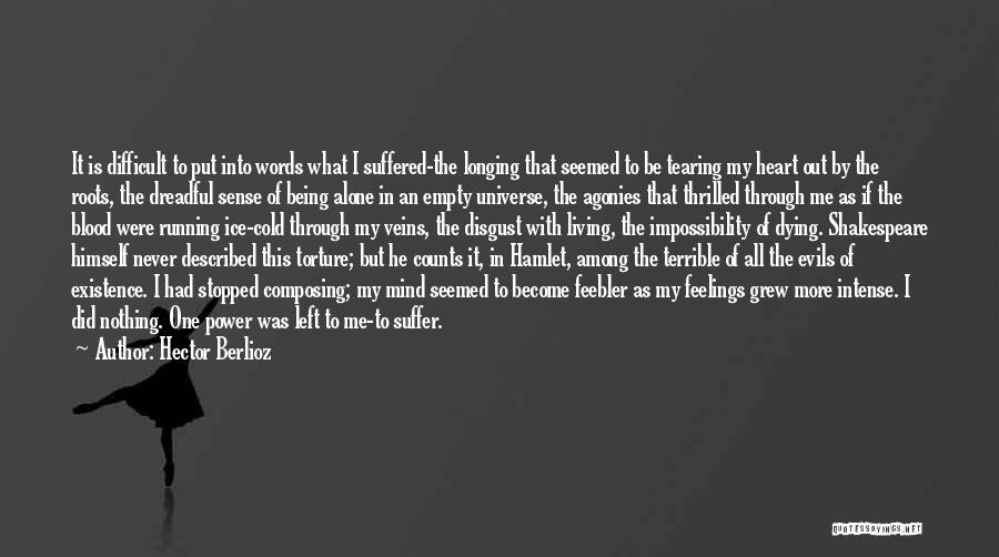 Running On Empty Quotes By Hector Berlioz
