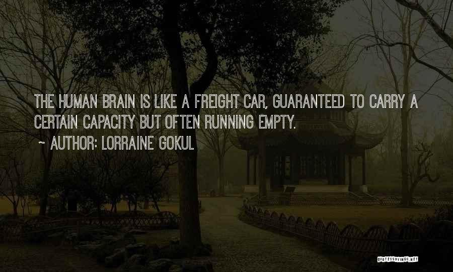 Running On Empty Quotes By Lorraine Gokul