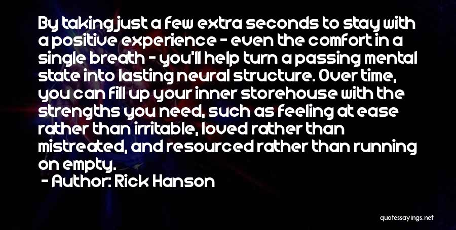Running On Empty Quotes By Rick Hanson
