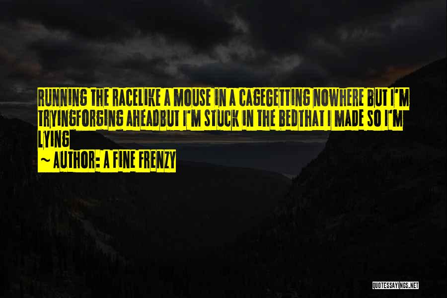Running The Race Of Life Quotes By A Fine Frenzy