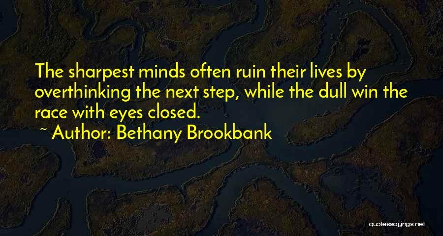 Running The Race Of Life Quotes By Bethany Brookbank
