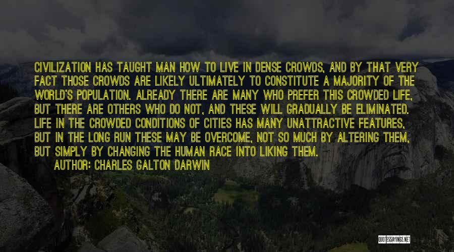 Running The Race Of Life Quotes By Charles Galton Darwin