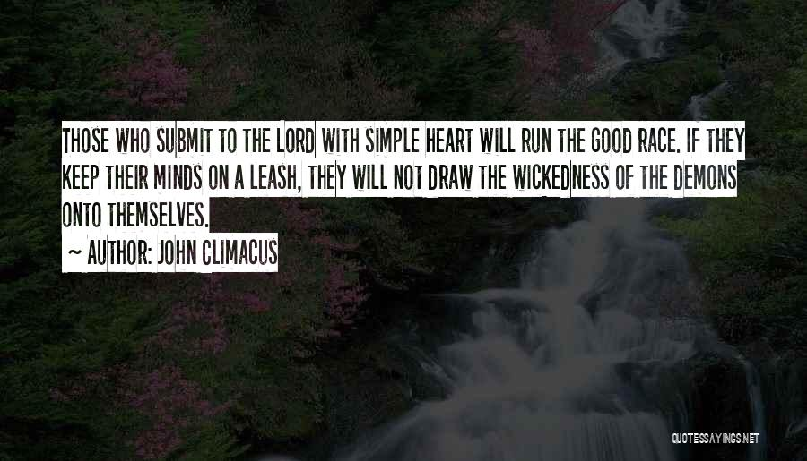 Running The Race Of Life Quotes By John Climacus
