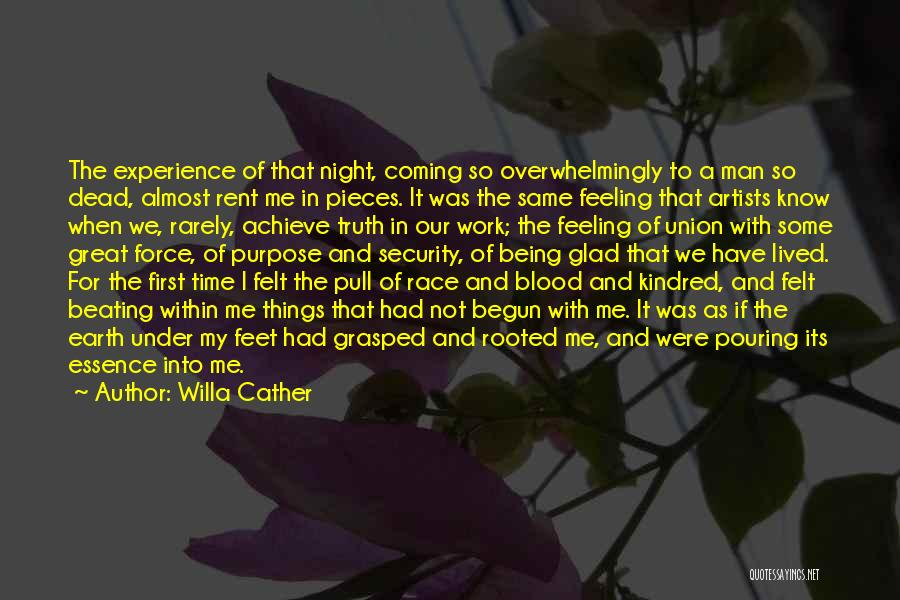 Running The Race Of Life Quotes By Willa Cather