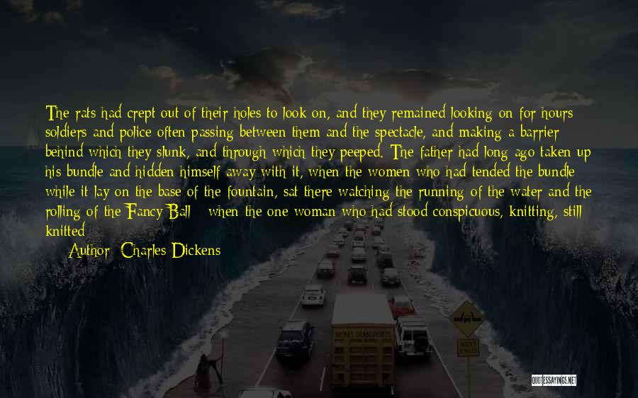Running Through Life Quotes By Charles Dickens