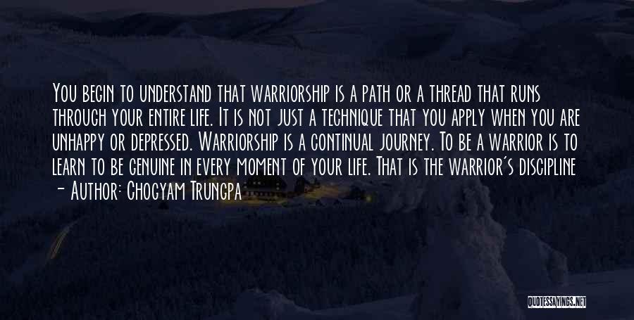 Running Through Life Quotes By Chogyam Trungpa