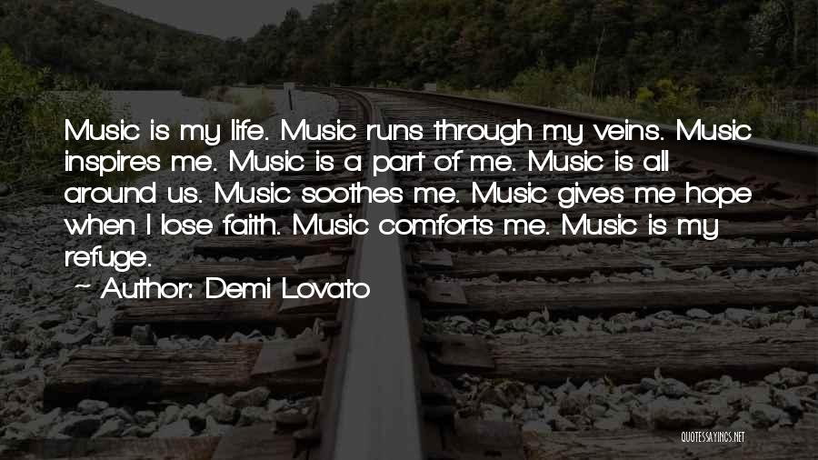 Running Through Life Quotes By Demi Lovato