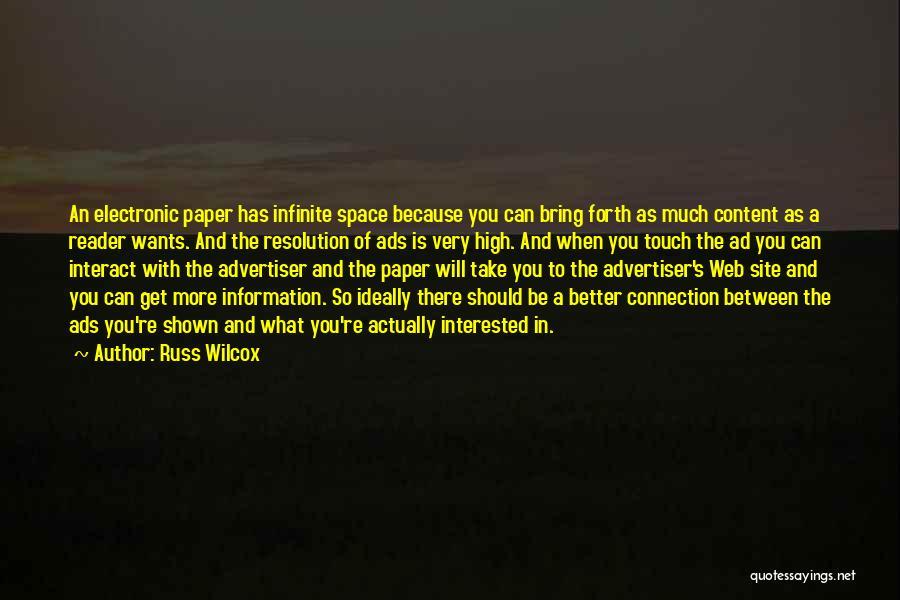 Russ Wilcox Quotes 833380