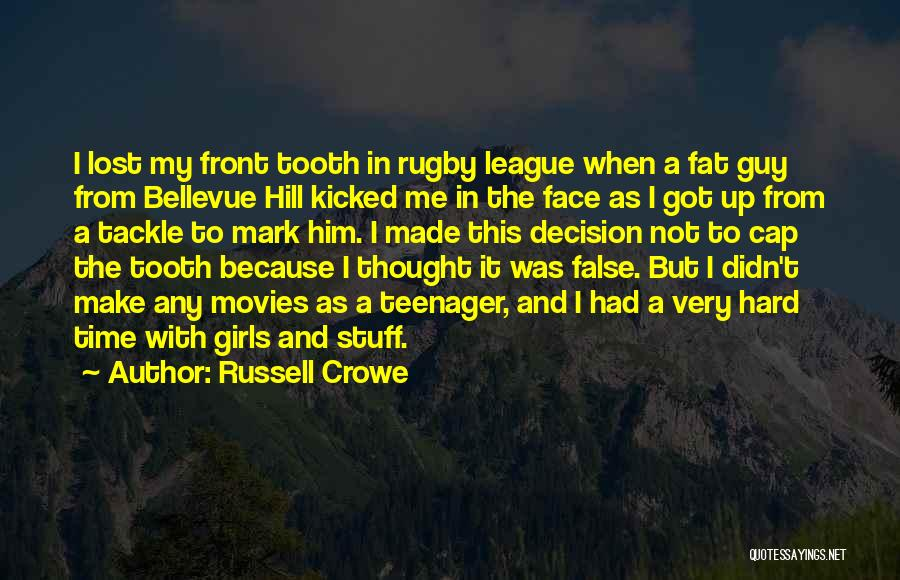 Russell Crowe Quotes 1213219