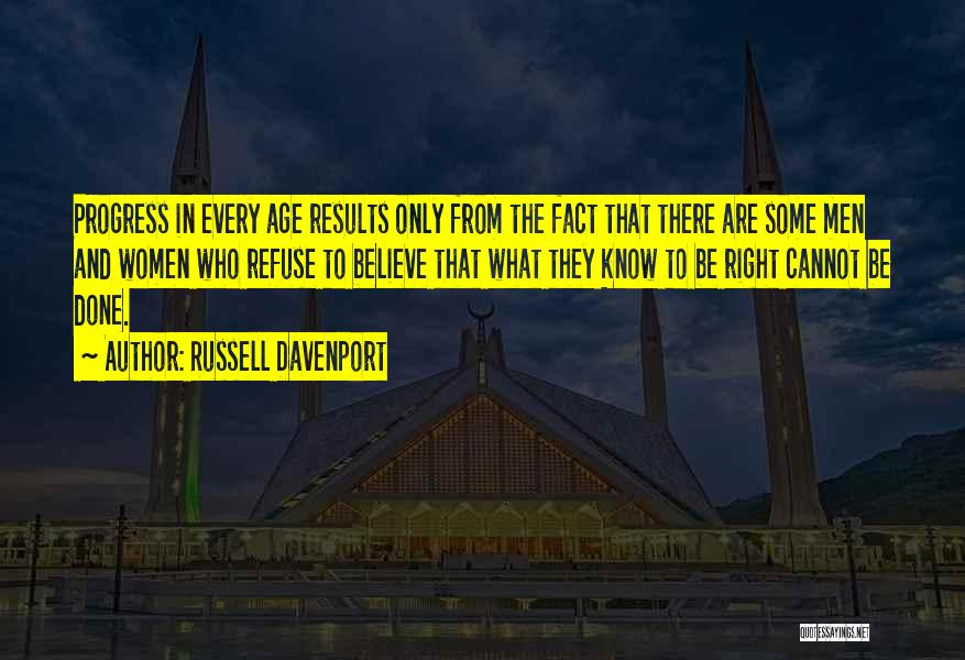 Russell Davenport Quotes 1495035