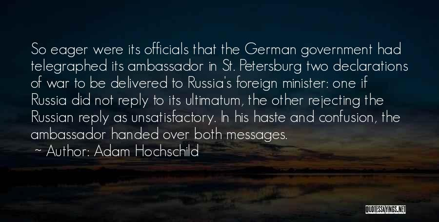 Russian History Quotes By Adam Hochschild
