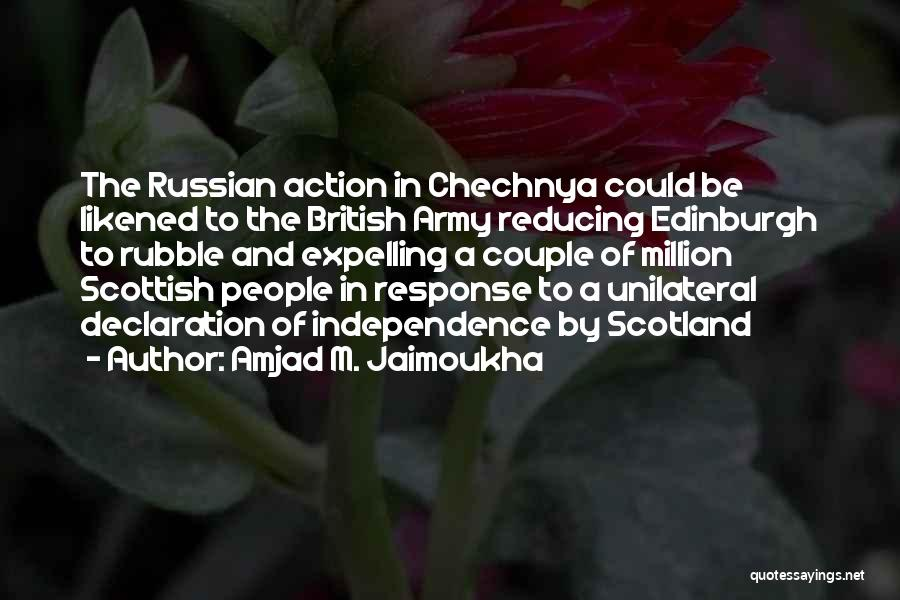 Russian History Quotes By Amjad M. Jaimoukha