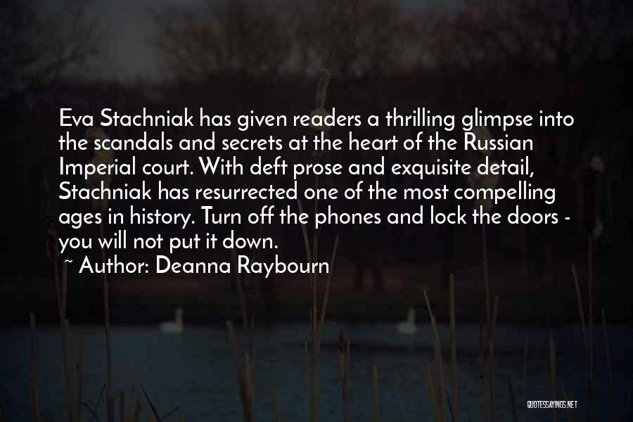 Russian History Quotes By Deanna Raybourn