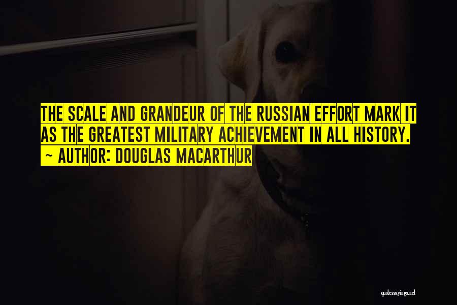Russian History Quotes By Douglas MacArthur