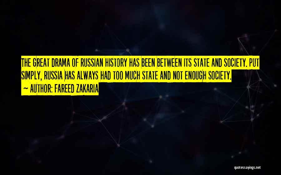 Russian History Quotes By Fareed Zakaria