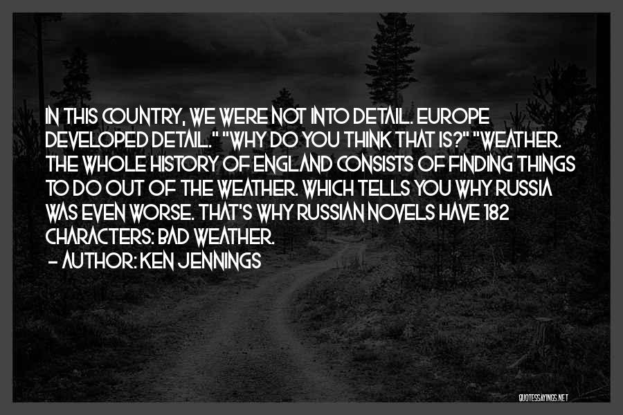 Russian History Quotes By Ken Jennings