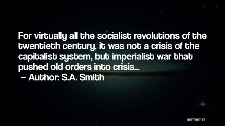 Russian History Quotes By S.A. Smith