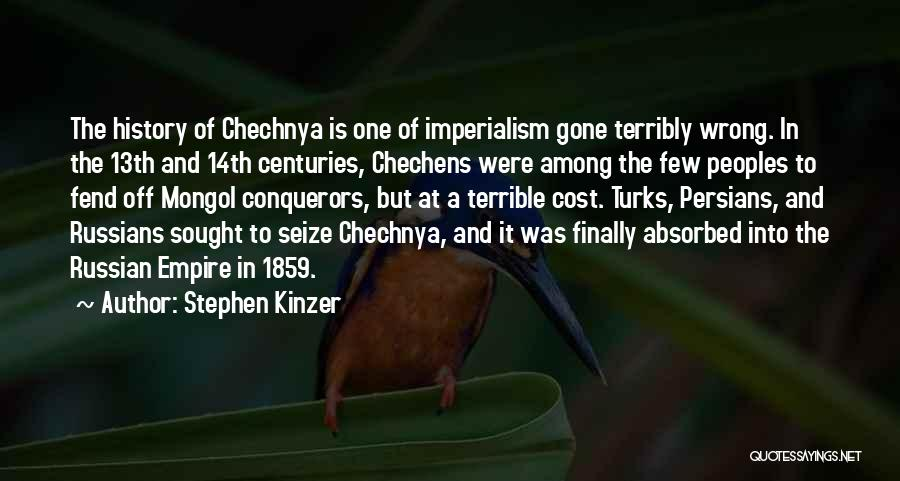 Russian History Quotes By Stephen Kinzer