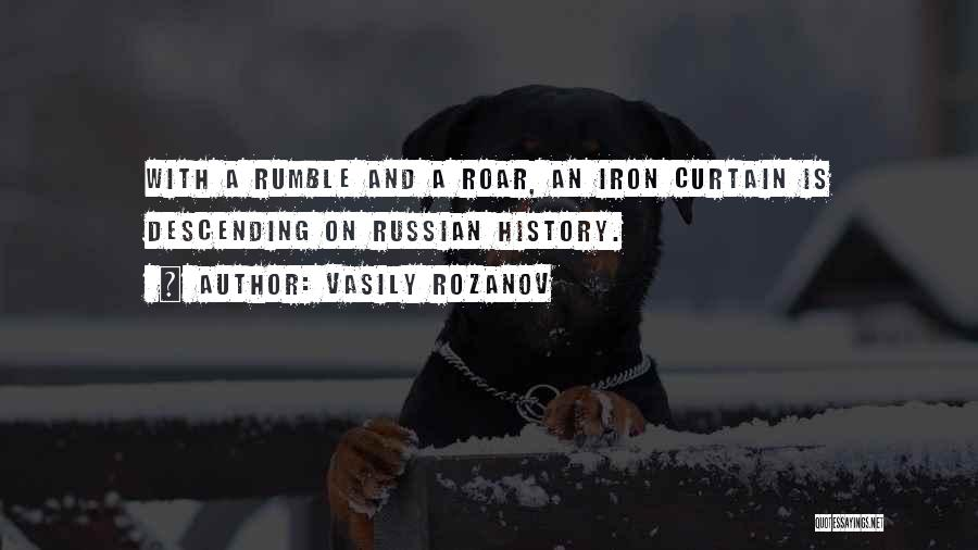 Russian History Quotes By Vasily Rozanov