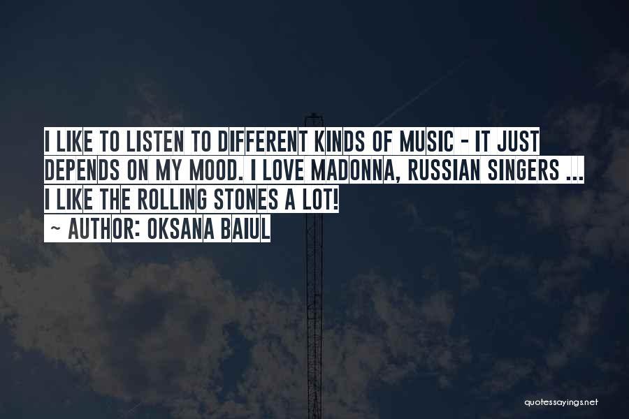 Russian Music Quotes By Oksana Baiul