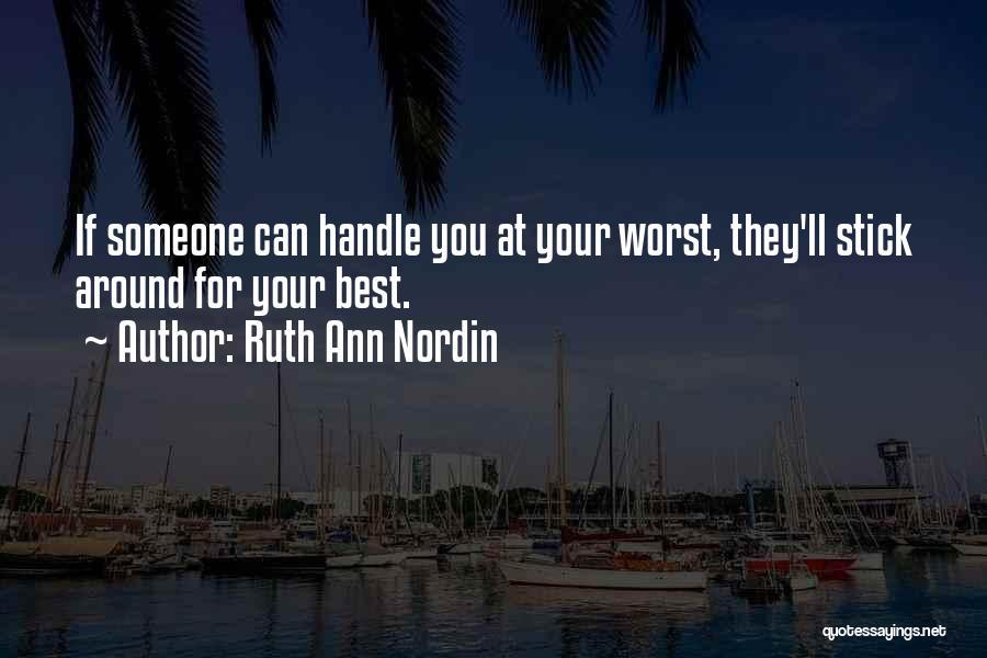 Ruth Ann Nordin Quotes 1179328