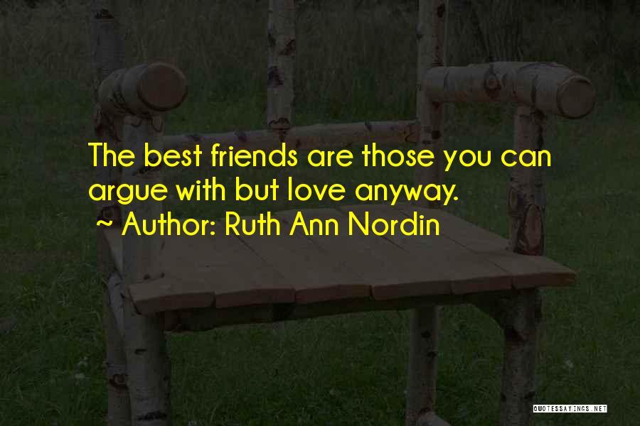 Ruth Ann Nordin Quotes 86681