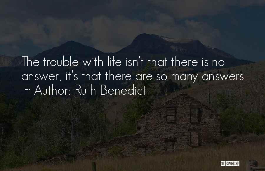 Ruth Benedict Quotes 1175260