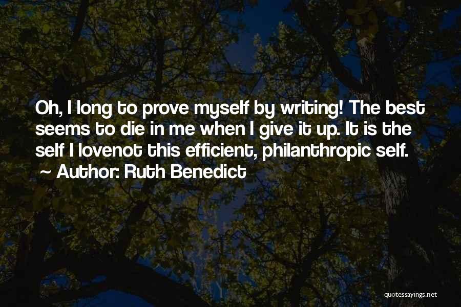 Ruth Benedict Quotes 1342866