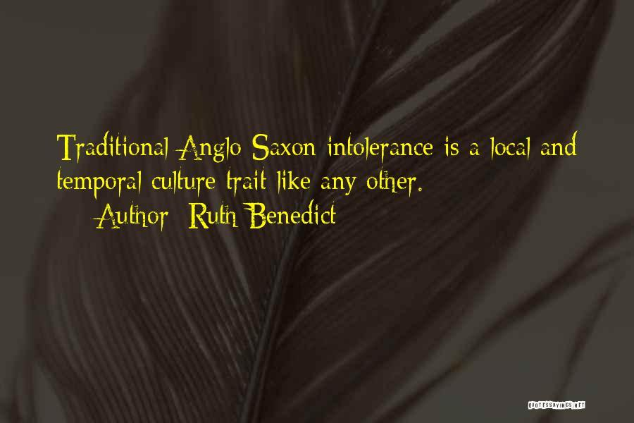 Ruth Benedict Quotes 146835