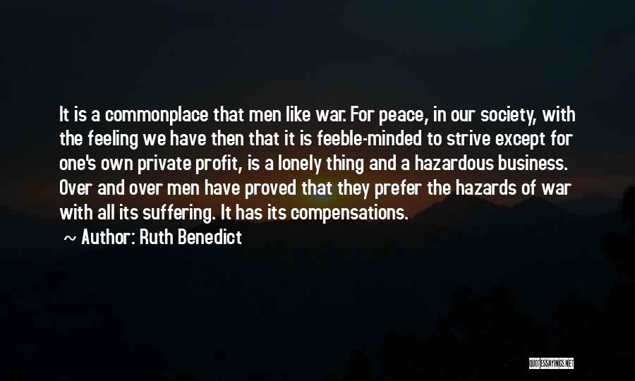 Ruth Benedict Quotes 1520310