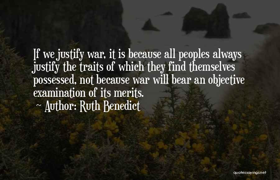 Ruth Benedict Quotes 1577252