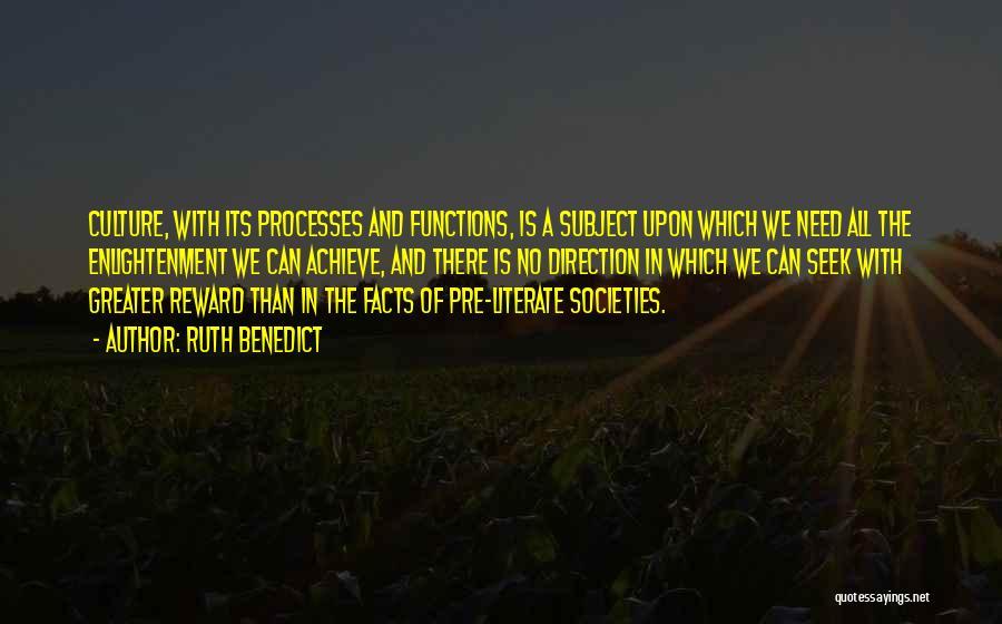 Ruth Benedict Quotes 1618297