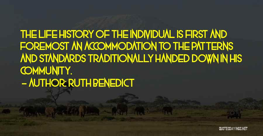 Ruth Benedict Quotes 1697237
